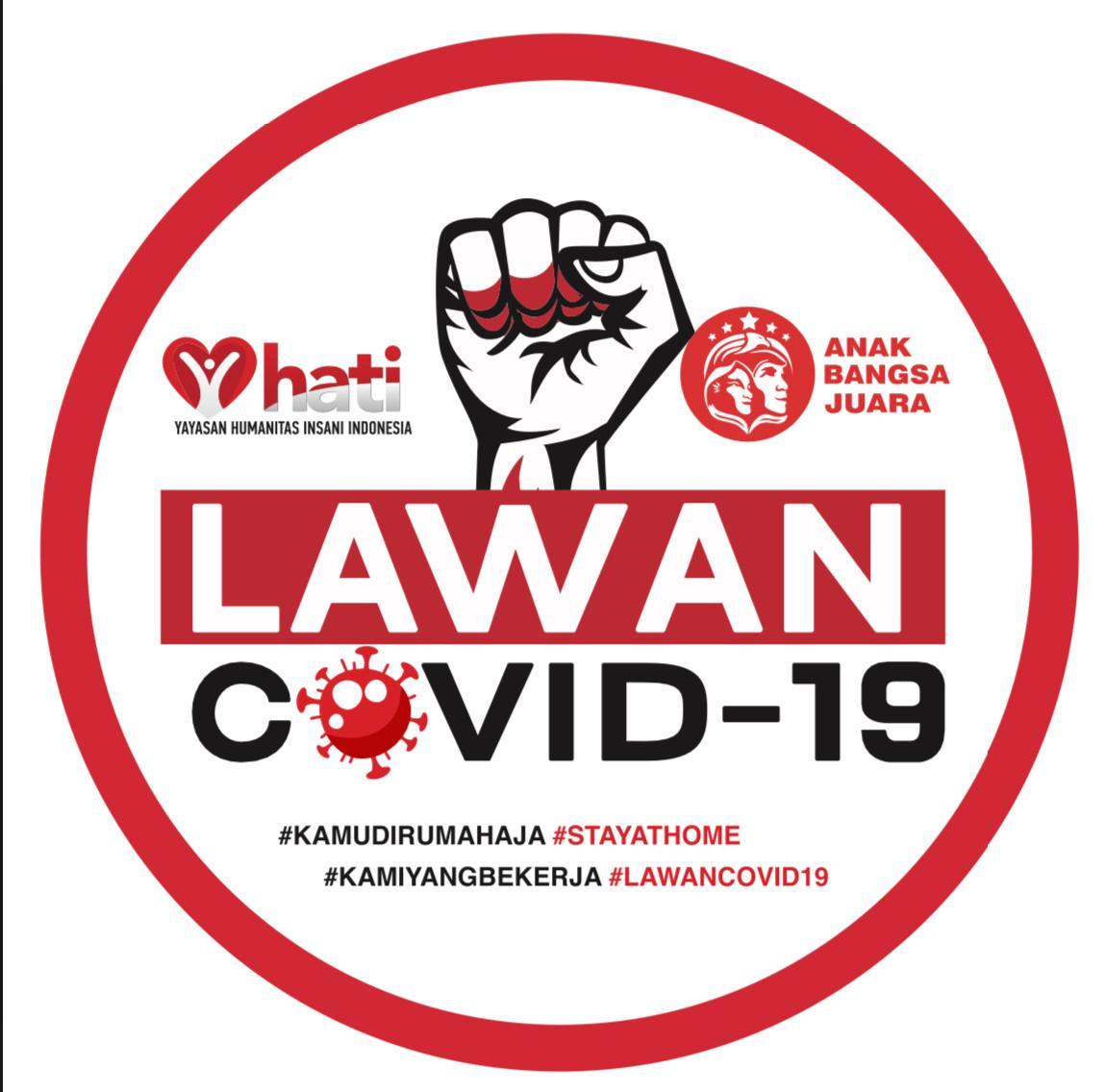 Yayasan Hati Dan Relawan Anak Bangsa Juara Bantu Korban Covid 19