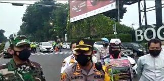 Kota Bogor, PPKM Darurat, Pintu Tol, Penyekatan