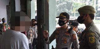 PPKM Darurat, Polres Bogor, Denda, Rumah Makan