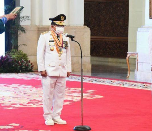 Presiden Jokowi, Pelantikan, Gubernur Jambi