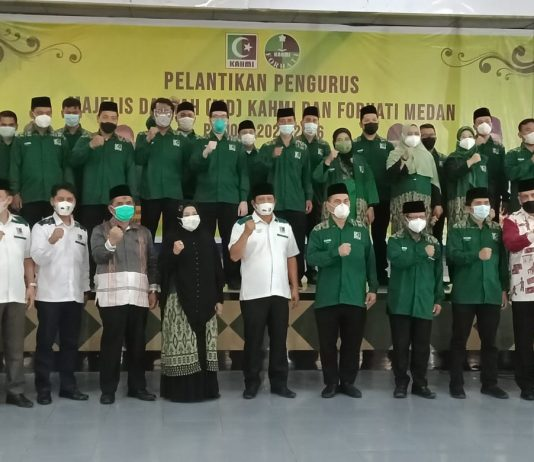 Pelantikan, KAHMI Medan, Bobby Nasution, Penanganan Pandemi
