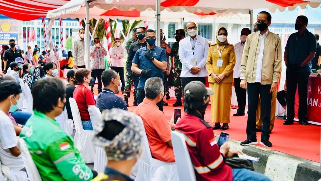 Presiden Jokowi, Pemerintah Daerah, Satu Juta Vaksin, Vaksin Covid-19
