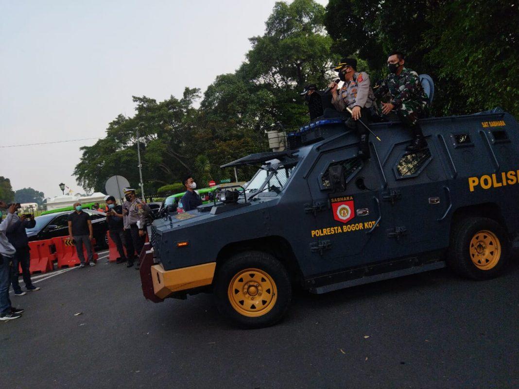 Kota Bogor, PPKM Darurat, Pelanggar Prokes, Penindakan
