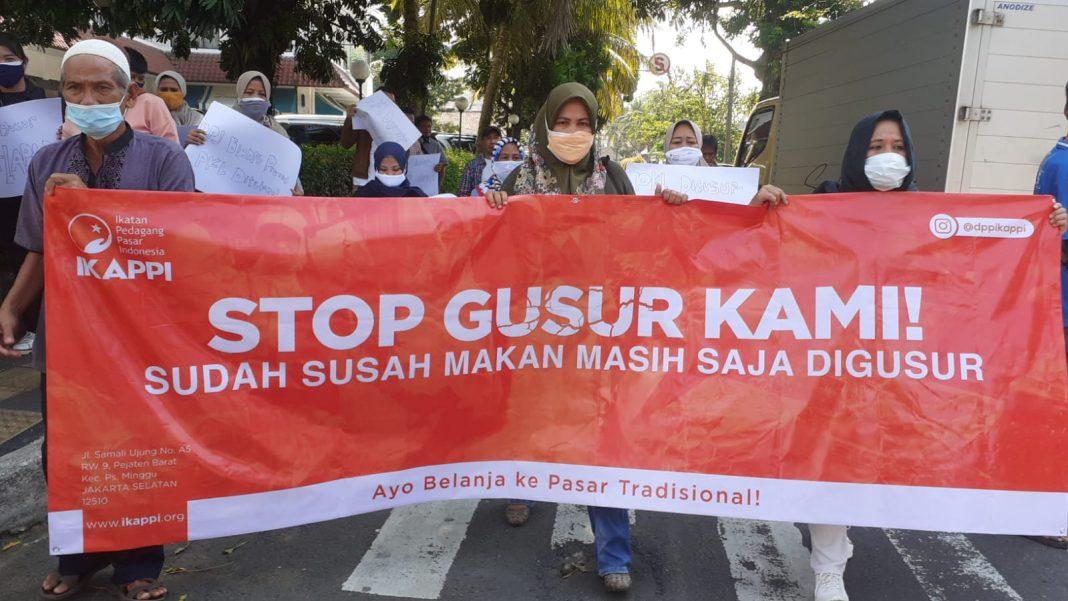 PKL, PKL Digusur, PPKM, IKAPPI Kota Bogor, IKAPPI, Bima Arya